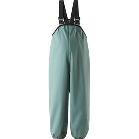 Reima Lammikko Spodnie przeciwdeszczowe Dzieci, forest green